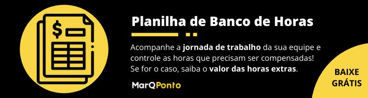 Planilha de Banco de Horas