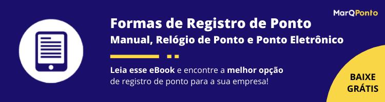 eBook Formas de Registro de Ponto - MarQPonto