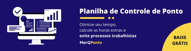 Planilha de Folha Ponto - MarQPonto